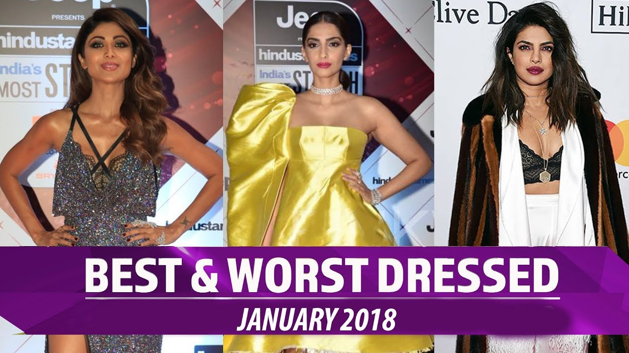 Alia Bhatt, Priyanka Chopra, Kareena Kapoor: Best and Worst dressed January 2018 | Pinkvilla