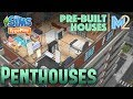 Sims FreePlay - Penthouse Apartments Pre-Built Templates Tour (Early Access Preview)