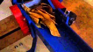 maszyna do cięcia liści tytoniuziół 03 04mm machine for tobacco