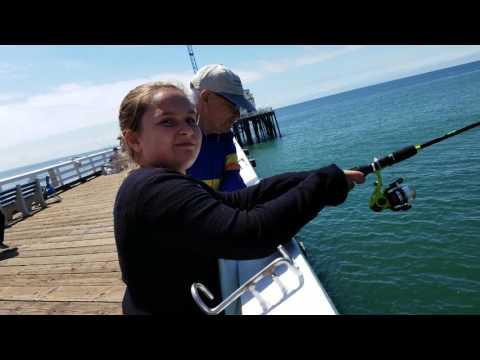 Fishing Malibu Pier 5/28/2017