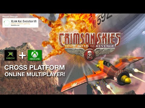 Crimson Skies - Original Xbox vs. Xbox One Online Gameplay (XLink Kai)