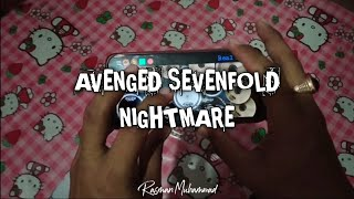 Avenged Sevenfold - Nightmare (Real Drum Cover)