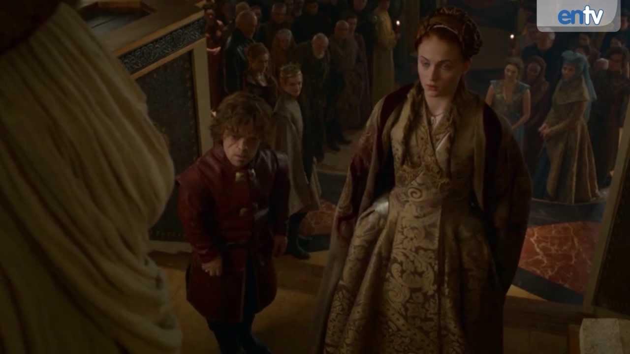 Tyrion and Sansa Wedding - Game of Thrones S3E8 Recap ...