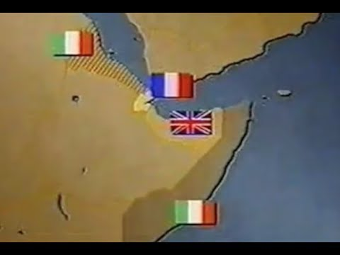 The history of Somalia between 1950 to 1997