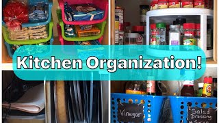 Kitchen Organization | Space Saving Ideas 💡