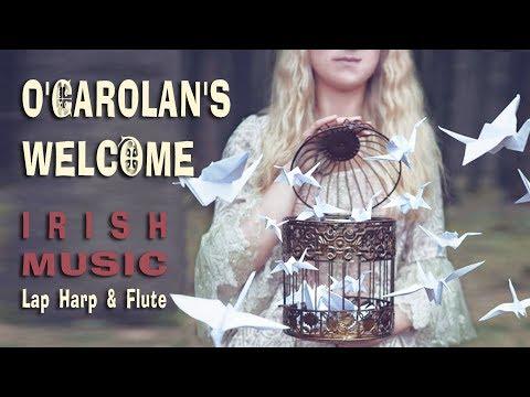 TURLOUGH O'CAROLAN'S - LAP HARP & FLUTE - IRISH MUSIC