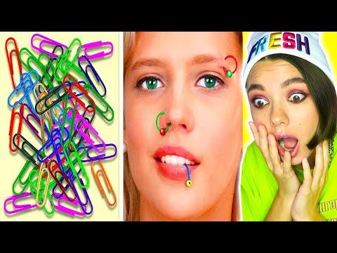 Вопрос: Как сделать клипсу в перепонку носа?