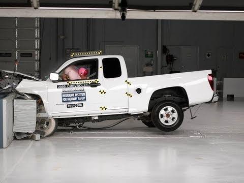 2005 Chevrolet Colorado Extended Cab Moderate Overlap Iihs Crash