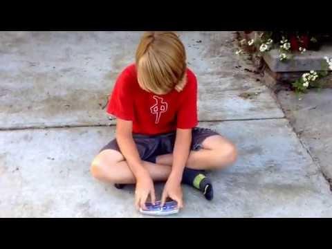 How To Do The Bridge (shuffling Cards)