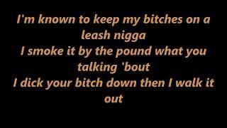 Chris Brown ,Tyga - Bitches N Marijuana - LYRICS !!