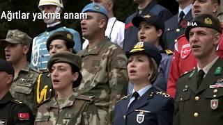 TSK'dan Vatan Marşı