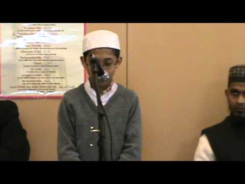 Surah Takathur Recited by Abdul Hamid at DHLNW Friday Assembly (8th March 2013)