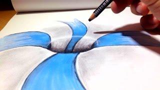 Comment dessiner une Illusion d'optique - Trou [Tutoriel]