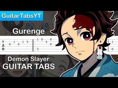 demon-slayer-(kimetsu-no-yaiba)---gurenge-(opening)-guitar-tutorial-|-guitar-lesson-+-tabs