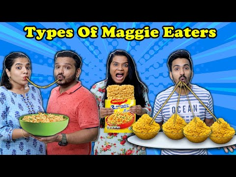 Types Of Maggi Eaters Part 3   Funny  Video   Hungry Birds