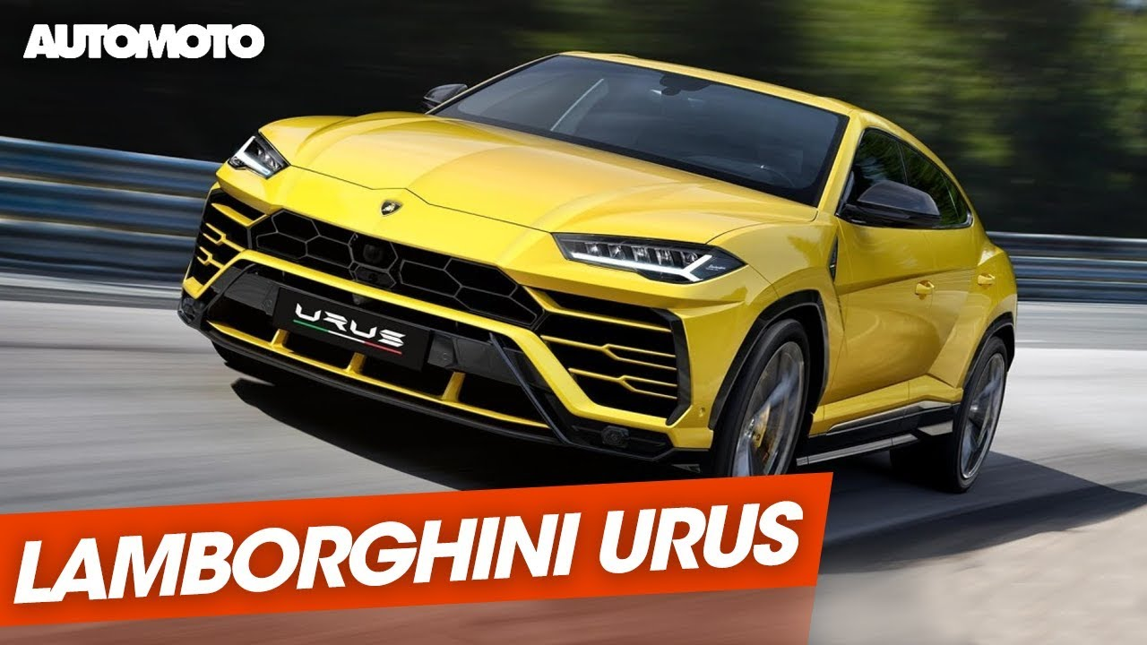 Lamborghini Urus Le Super Suv Youtube