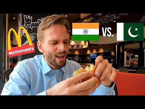 McDonald's India vs. Pakistan: Which is Best? I Flew to Both! 🍔