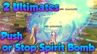 Can 2 Ultimate's Push Back Spirit Bomb?! - Dragon Ball Xenoverse 2