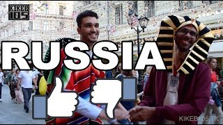 Find out if ppl would come back to Russia?