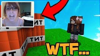 TROLLING GIRL GAMER IN MINECRAFT ON DISCORD! (Minecraft Trolling)