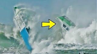 Download Video Video Menengangkan Detik-detik Kapal Tenggelam Diterjang Ombak Tinggi di Pantai Nias MP3 3GP MP4
