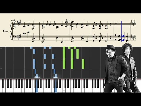 Fall Out Boy - What A Catch, Donnie - Piano Tutorial + Sheets