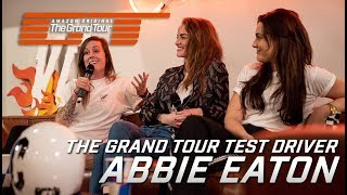 The Grand Tour test driver ABBIE EATON talks about career & GT | Queen B & Catie Munnings |