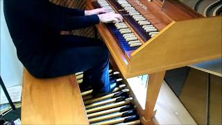 Christ lag in Todesbanden, Pedal Harpsichord, by J.S.Bach BWV 625, Easter, Paul Anderson