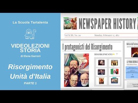 Risorgimento e unità d'Italia 1 (protagonisti e avvenimenti) -