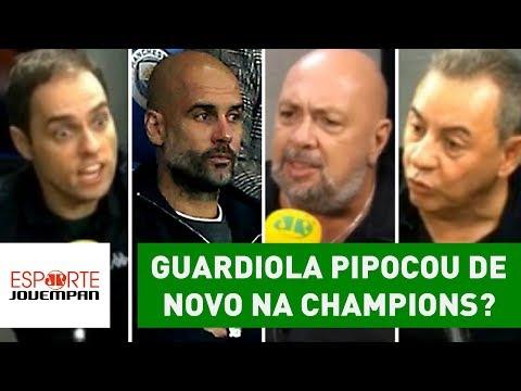 Guardiola PIPOCOU De Novo Na Champions? Debate PEGA FOGO!