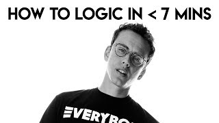 How to Logic in Under 7 Minutes | FL Studio Trap and Rap Tutorial