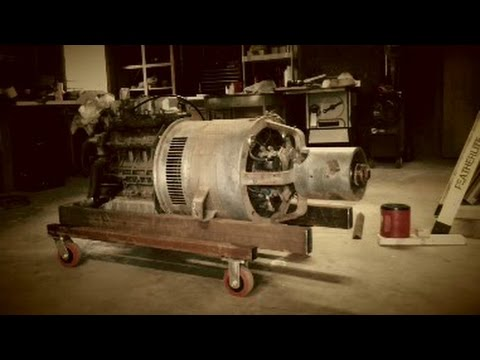 Lincoln SAE 300 build part 3- armature to flywheel bolt up - YouTube