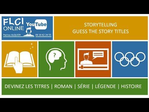 Storytelling  : Guess The Story - Devinez Le Titre : 4 Images 1 Histoire