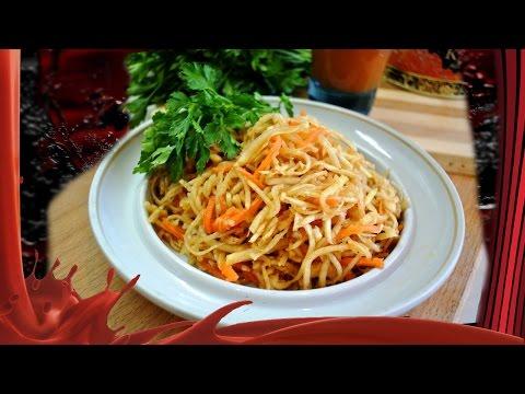 Салаты из корня сельдерея — рецепт