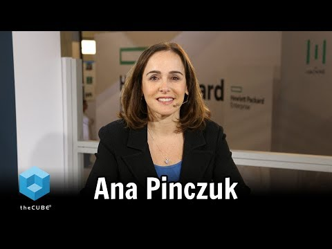 Ana Pinczuk | HPE Discover 2017 - YouTube