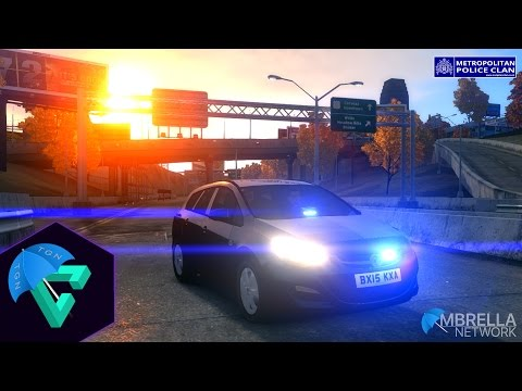 GTA IV LCPD:FR - Met Police Clan LIVE - Live Steam 19 - Out With Proactive (OT560)