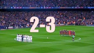 Real madrid vs fc barcelona 2-3 ...