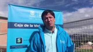 Germán Bahamón explica la importancia del Foro de Inicio del Mejoramiento de Vivienda