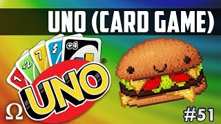 THAT'S ONE TASTY BURGER!  | Uno Card Game #51 Funny Moments Ft. Vanoss / Jiggly / Nogla