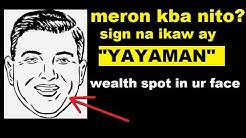 Mga Senyales Sa Mukha Na Ang Taong Ito Ay Yayaman ll Mga Hugis Ng Baba