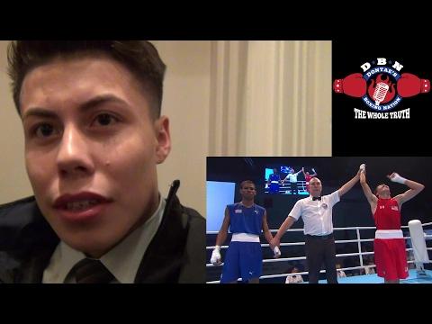 "MARC CASTRO: #1 IN THE WORLD! @123 lbs "" MY STYLE IS GOLOVKIN MIXED W/ TERRENCE CRAWFORD"""