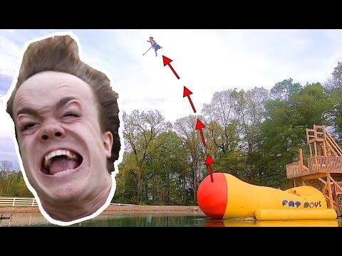 World Record Dwarf Launch! ft. Roman Atwood