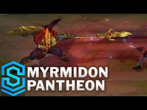 Myrmidon Pantheon Skin Spotlight - Pre-Release - League of Legends