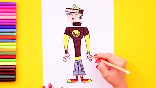 How To Draw Duncan (total Drama Character)