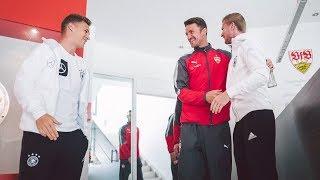 Kimmich, Werner und Co. zu Besuch beim VfB Stuttgart