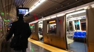 World Trade Center Bound Train Of PA-5s @ Exchange Place [ PATH / Port Authority Trans-Hudson ]