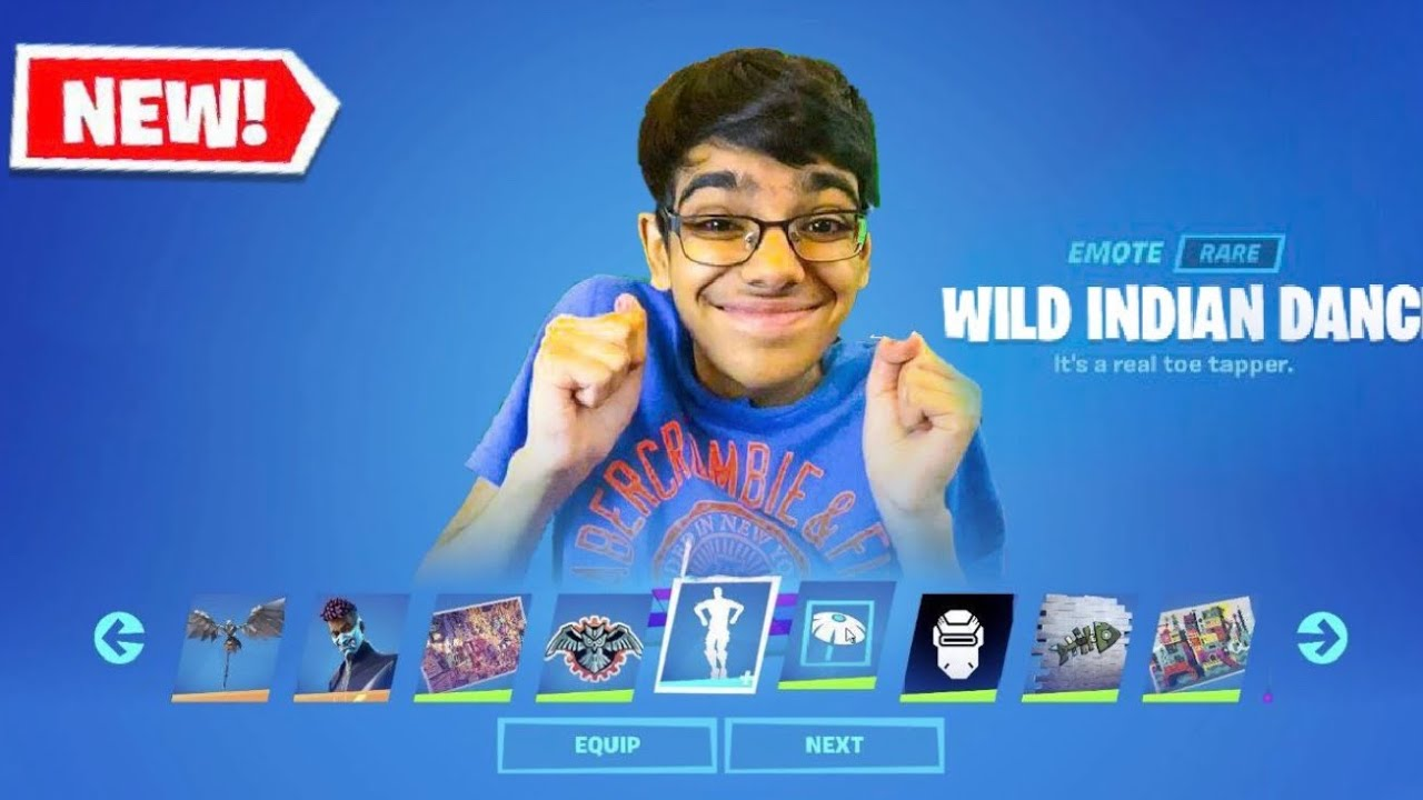 Download Fortnite Added My Own CUSTOM Emote in The Season 3 BATTLE PASS! (Wild Indian Dance)