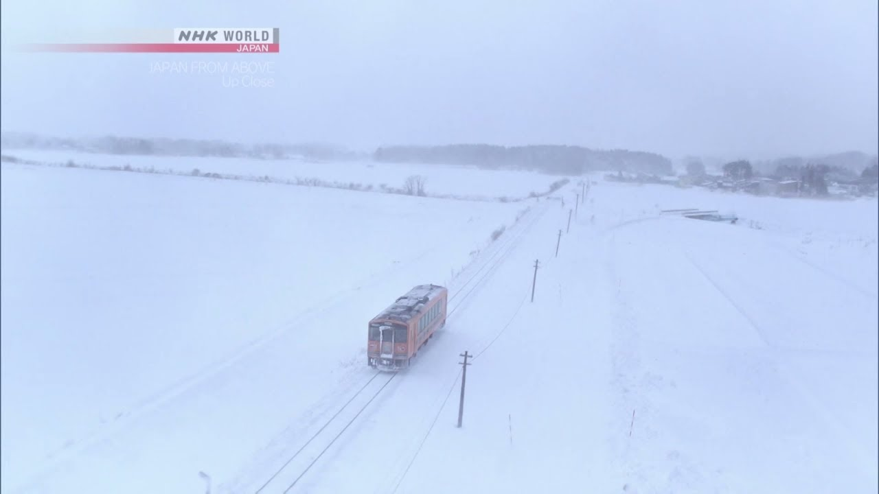 Photo of Staying on Track [Aomori] – JAPAN FROM ABOVE: UP CLOSE – video