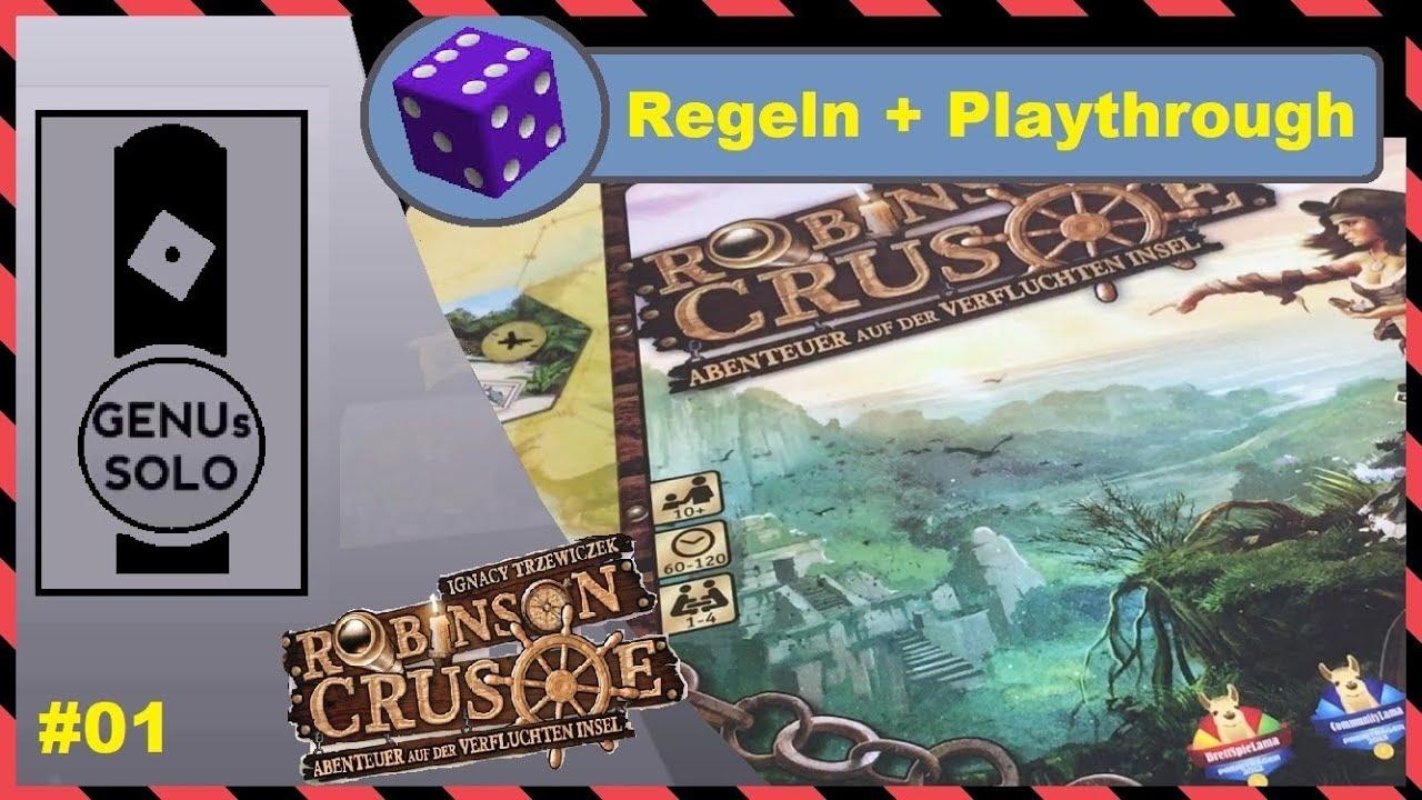 Brettspiel Robinson Crusoe