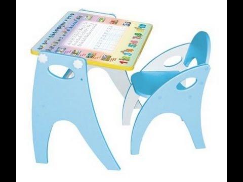 Набор детской мебели парта-мольберт стульчик детский.